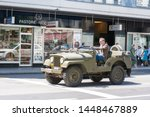Jeep On A Street. The Willys M...