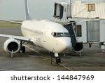 passenger jet.  a passenger... | Shutterstock . vector #144847969