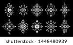 aztec vector elements. set of...   Shutterstock .eps vector #1448480939