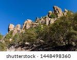 organ pipe formation at...   Shutterstock . vector #1448498360