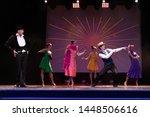 Team Actors Dancers Perform In...