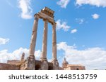 temple of castor and pollux ...   Shutterstock . vector #1448513759