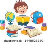 vector illustration of children ...   Shutterstock .eps vector #1448528330