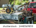 Scrap Metal And Junk Loaded On...