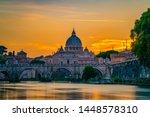 St. Peter\'s Basilica In Vatica...