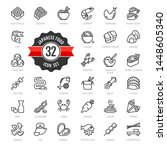 japan  japanese food  japaneze... | Shutterstock .eps vector #1448605340