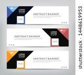 modern design  web banner... | Shutterstock .eps vector #1448619953