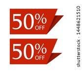 special sale discount sticker... | Shutterstock .eps vector #1448621510