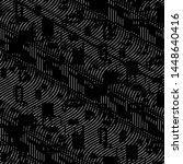abstract grunge grid stripe... | Shutterstock . vector #1448640416