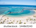 Famous Waikiki Beach On The...