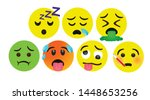 high quality icon set vector... | Shutterstock .eps vector #1448653256