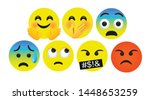 high quality icon flat vector... | Shutterstock .eps vector #1448653259