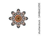 aboriginal art logo design... | Shutterstock .eps vector #1448661050