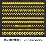caution and danger tapes.... | Shutterstock .eps vector #1448672090