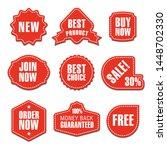 set of different flat... | Shutterstock .eps vector #1448702330