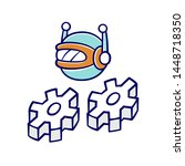 work bot color icon. software... | Shutterstock .eps vector #1448718350