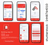 banking app ui kit for...