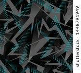 sports textile modern seamless...   Shutterstock .eps vector #1448791949