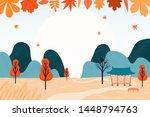 hand drawn vector illustration... | Shutterstock .eps vector #1448794763
