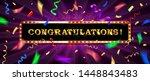 congrats  congratulations... | Shutterstock .eps vector #1448843483