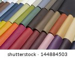 sample   a good quality leather ... | Shutterstock . vector #144884503