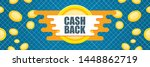 vector cash back icon with...   Shutterstock .eps vector #1448862719