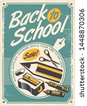 back to school promotional...   Shutterstock .eps vector #1448870306