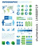 infographic elements 01. this... | Shutterstock .eps vector #144888919