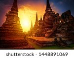 The Ancient Ruins Of Wat Phra...