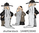 Three Old Angry Jewish Men With ...