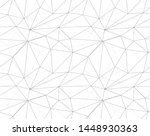 seamless vector polygonal...   Shutterstock .eps vector #1448930363