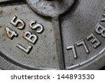 weight lifting | Shutterstock . vector #144893530
