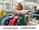 portrait of young caucasian... | Shutterstock . vector #1448949089