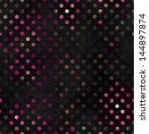 seamless glowing polka dot... | Shutterstock . vector #144897874