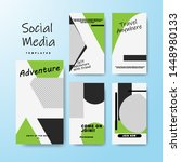 set of banner for social media... | Shutterstock .eps vector #1448980133