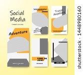 set of banner for social media... | Shutterstock .eps vector #1448980160