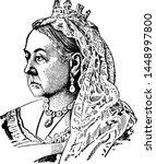 Queen Victoria Of England...
