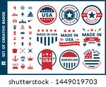 vintage retro vector for banner ... | Shutterstock .eps vector #1449019703