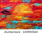 ������, ������: Beautiful original oil and