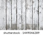 White Paint Fence Wood Texture