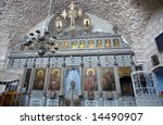 Iconostasis In Holy Sepulchre...