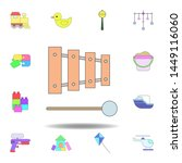 cartoon music instrument toy...