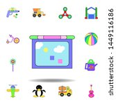 cartoon tablet kids toy colored ...