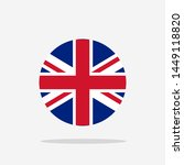 united kingdom flag icon sign... | Shutterstock .eps vector #1449118820