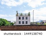 An Old Derelict Building In...