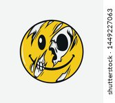 Half Skull Emoticons  Emojis...