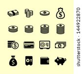 money symbol set | Shutterstock .eps vector #144922870