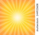 sun sunburst pattern | Shutterstock . vector #144923608
