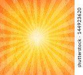 sun sunburst grunge pattern | Shutterstock . vector #144923620