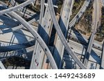 afternoon aerial above the... | Shutterstock . vector #1449243689